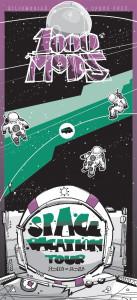1000mods - Tour Poster 2013
