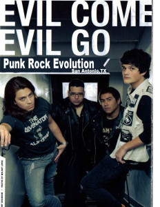 Evil Come Evil Go- Backbeat Magazine