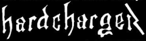 Hard Charger Logo White