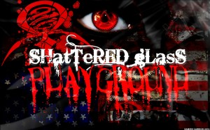 Shattered Glass Playground american-flag
