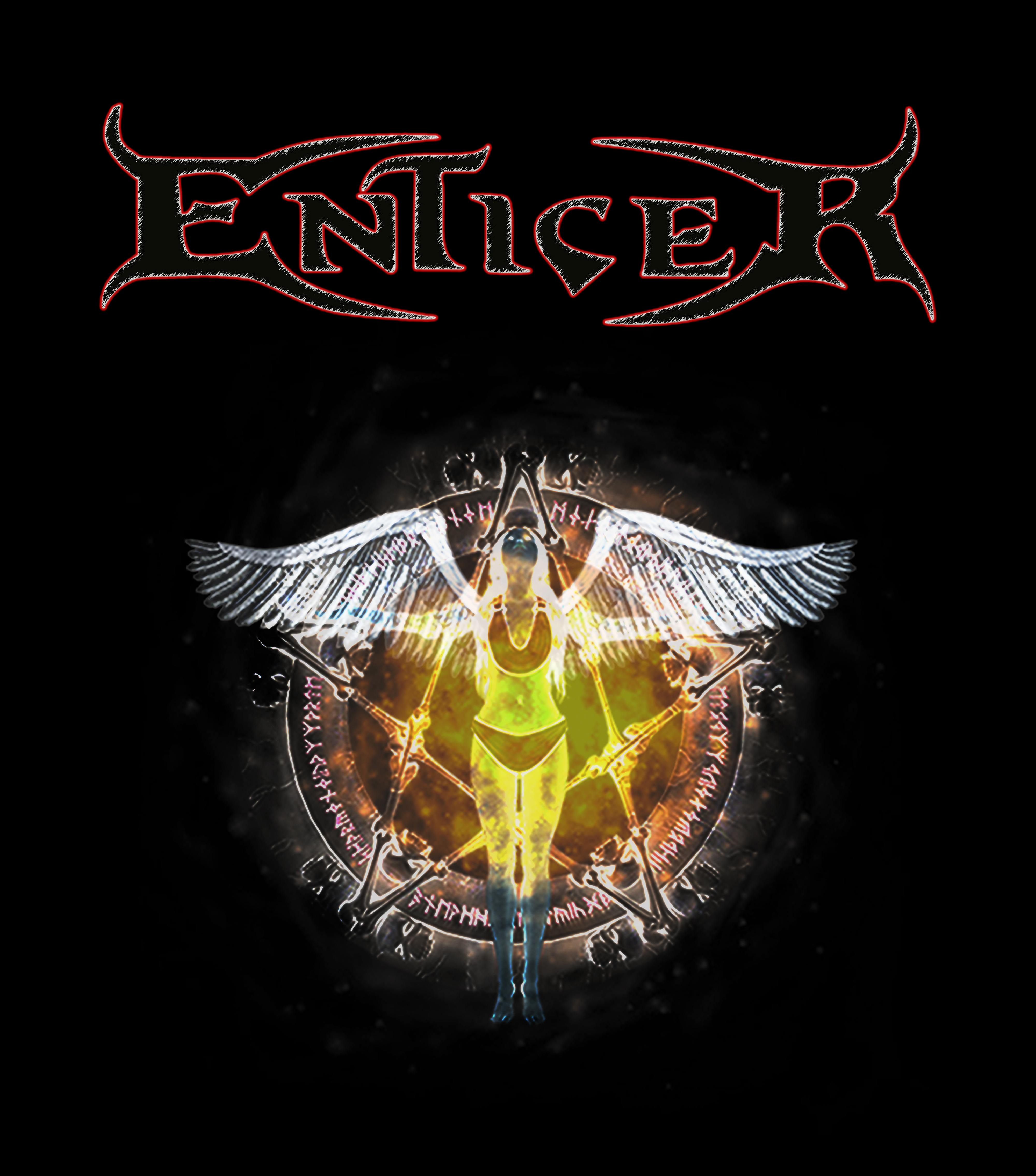 Enticer logo and pic